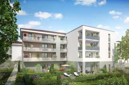 logement plan 3A meyzieu